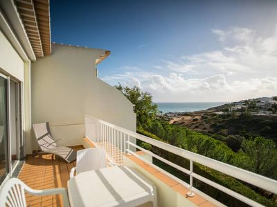 Photo for Porto de Mos Apartment with Amazing Balcony View