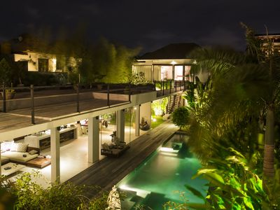 Photo for Stunning open plan 5BR villa set quietly amongst yet minutes to the beach!