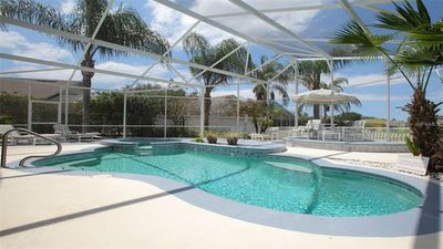 Photo for Exclusive Community w/Private Pool &Spa! 5 mins to Disney! Walk to dining. WiFi