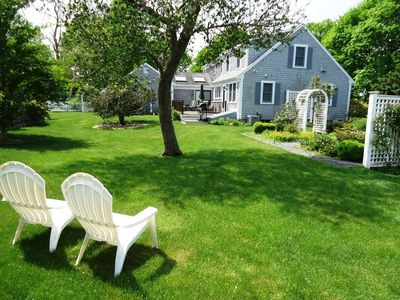 The perfect Chatham getaway awaits you in this lovely three + bedroom, two and a half bath home.