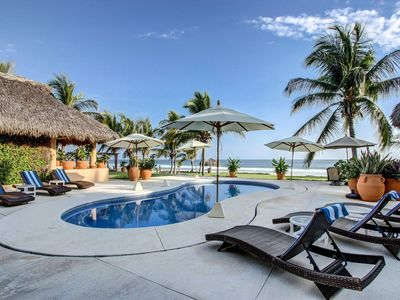 Photo for Puerto's Finest Luxury Beachfront Villa Full Service Included