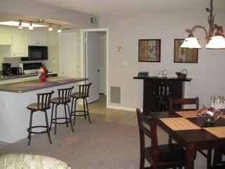 Updated Kitchen  with new appliances and dining area with wine bar