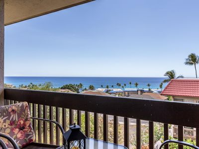 Photo for Ocean View corner townhouse-style unit, just steps from the ocean and downtown