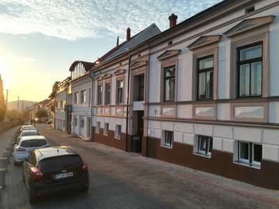 Photo for Central Pécs First Floor Blue Apartment With Cathedral Views