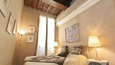 Photo for Leonardo Da Vinci, Beautiful apartment in the heart of Rome, just a few meters from the Spanish ...