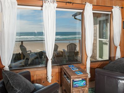 Photo for Beach cabin with attitude! It's rare to find an oceanfront home in Newport