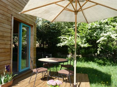 Photo for wooden cottage in south ardeche