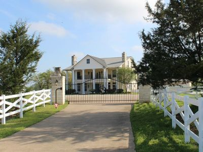 Photo for Game Day/Family Gathering/Wedding venue with Pool.  Largest in College Station.