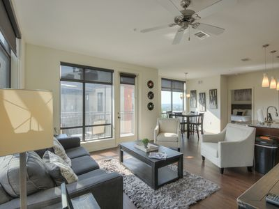 Photo for Luxurious Large 2 bed 2 bath Downtown Condo-Corner Unit #321