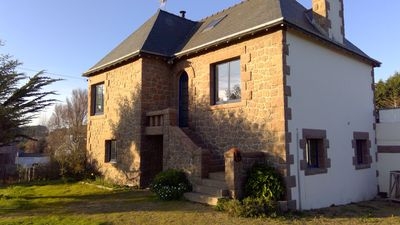 Photo for Seasonal rental house 6 people in Trégastel, 200m. port and beaches