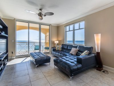 Photo for Charming Condo! Partial Gulf View, Splash Pad, Free Beach Equipment Rental!
