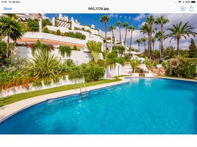 Photo for Golden Mile 2 Bedroom Luxury Apartment Marbella Spain 1Km From The Marbella Club