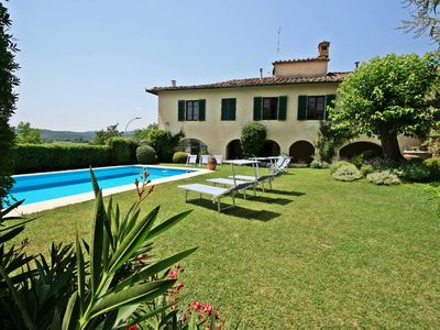 Photo for Elegant and refined pool Villa in the medieval village in Tuscany
