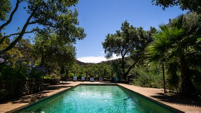 Photo for Beautiful Sonoma Estate Overlooking Vineyards with Pool