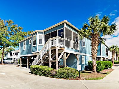 Prime Walk To Myrtle Beach Charming 2Br Beach Cottage W Pool Porch Myrtle Beach Home Interior And Landscaping Analalmasignezvosmurscom