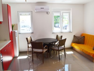Photo for One bedroom apartment Talić in Srima, Croatia,  60 meters from the beach
