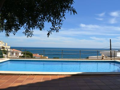 Photo for Nice apartment in quiet area of ​​Fener de Dalt, sea views and pool.