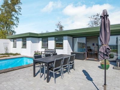 Photo for Modern Holiday Home in Jutland with Swimming Pool