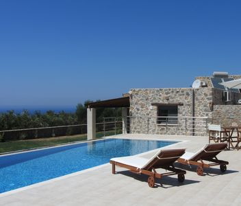 Photo for Villa Asteraki - Villa with pool, garden, sea view. Relax is guaranteed!