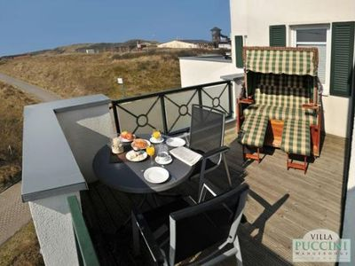 Photo for Magnificent balcony terrace with views in Wangerooges dune landscape!