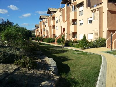 Photo for Luxury 2 bed, 2 bath apartment with pool close to the beach, shops and
