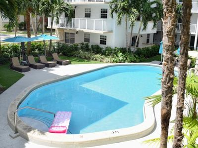 Photo for ULTIMATE KEY BISCAYNE GETAWAY! THREE 2BR/2BA APARTMENTS, STEPS TO THE BEACH! PARKING, POOL