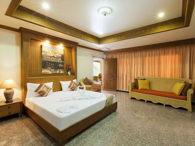 Photo for Deluxe Room for 3 to 4, Kitchenette