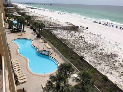 Photo for Azure Resort - Penthouse Level - Direct beach/gulf access - Amazing Views!!