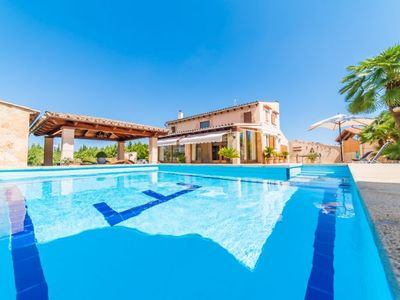 Photo for es Barcares Holiday Home, Sleeps 6 with Pool, Air Con and WiFi