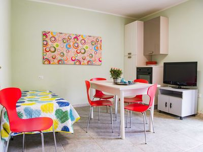 Photo for Apartment with large veranda ideal for spending a wonderful holiday
