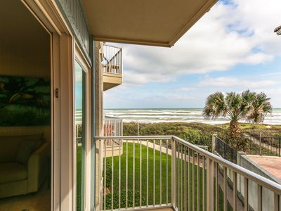 Photo for Shared pool, hot tub, & partial ocean views at this waterfront condo!