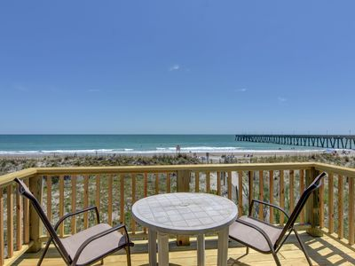 Photo for Archer– Relax and unwind at this bright and airy oceanfront townhouse