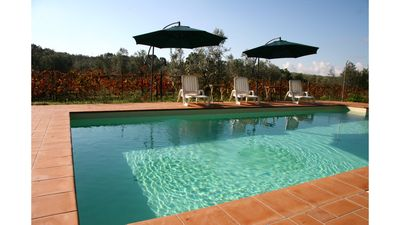 Photo for Casa Aurora 2 + 2 - Vacation in nature near the sea - Swimming pool