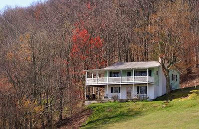 Situated on 3.5 acres, Aunt Birdie's reigns over the ridge