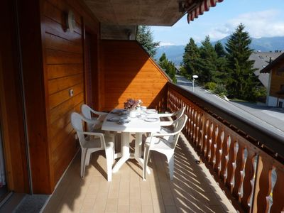 Photo for 1BR Apartment Vacation Rental in Leytron, Valais