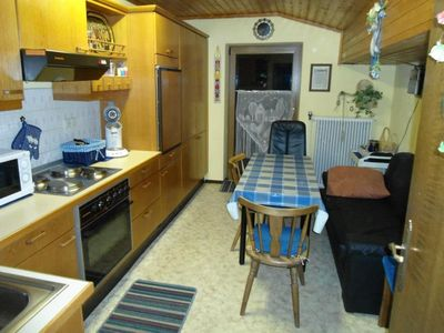 Photo for Only 500m walk to the ski lift, spacious apartment for 4-6 people