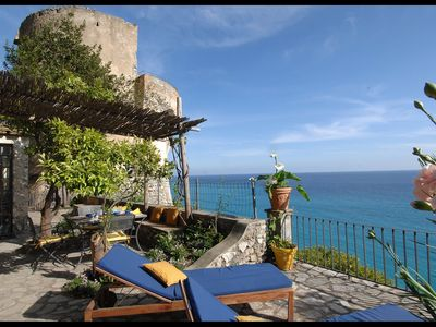Photo for Romantic Tower to rent in Positano by My Rental Homes