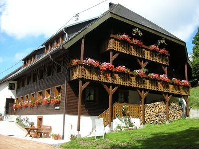 Photo for Black Forest farmhouse **** in the beautiful highland valley of Ibach