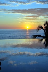 Sunset from the Infinity Pool