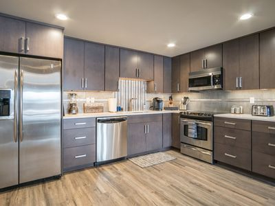 Photo for Yowza! Contemporary New Waterfront Condo in Town!  (Driftwood #9)