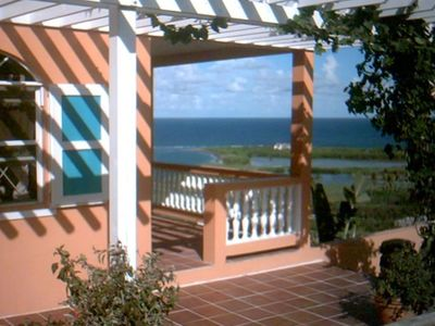 Photo for Charming Oceanview Villa, Overlooking Golf Course
