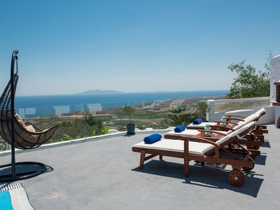 Photo for Listings  Villa for 4, Private Pool and Aegean Sea View