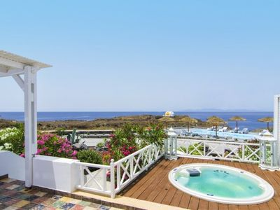 Photo for OIA SUNSET - Villa DIAMOND | 4 Bedrooms & Private Jacuzzi