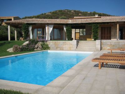 Photo for San Teodoro: Beautiful house with panoramic views over the beaches of Lu and La Cinta Impostu