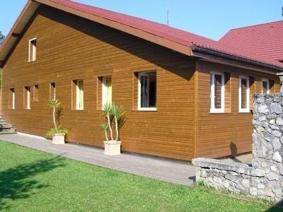 Photo for Comfortable chalet on property, controlled by the Thonon-les-Bains Tourist Office