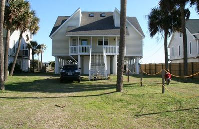 Photo for Polly's Folly OceanFront Beach House sleeps 14 with laid back/casual vibe