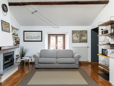 Photo for The Fascinating Cozy Home Barbagialla is an Apt. in the historic center of Como