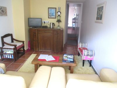 Photo for INDEPENDENT COMFORTABLE APARTMENT + TERRACE IN HISTORICAL CENTER OF QUINTIN