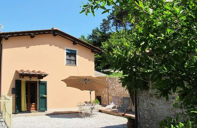 Photo for Vacation home Rustico Vecchio  in S. Lorenzo a Vaccoli (LU), Pisa - Lucca surroundings - 2 persons, 1 bedroom