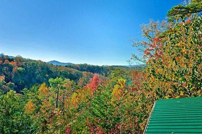 View from Cabin - Start of fall